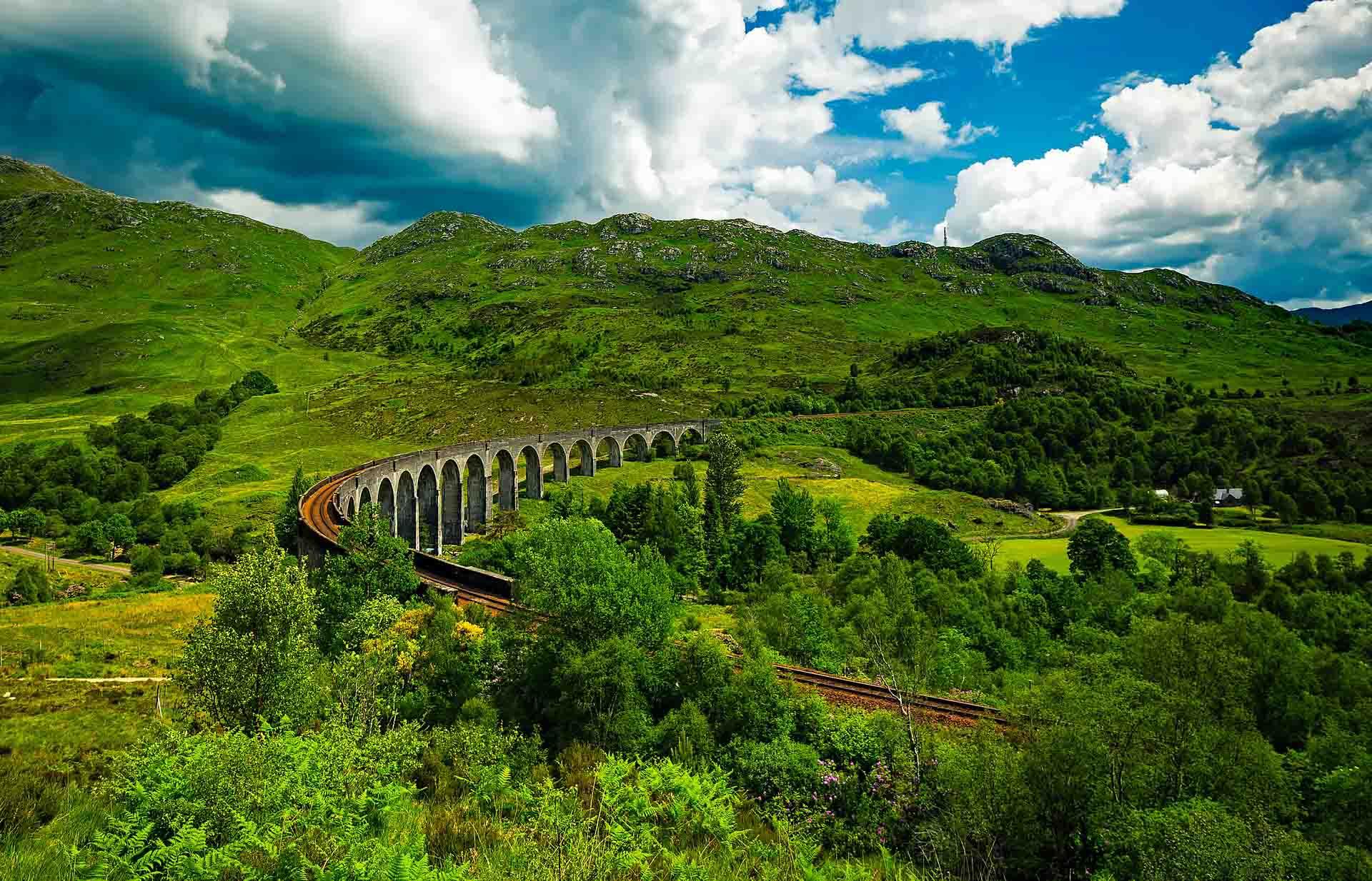 Rondreis met de trein door Schotland